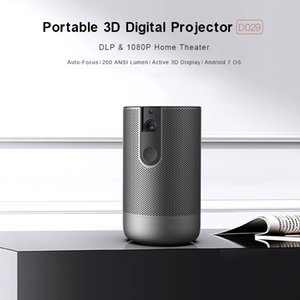 mofree DLP Projector Portable Full HD WIFI Movie Game Sync Screen Bluetooth Home outdoor Office small-scale projection intelligence touch screens