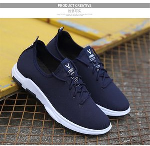 Lightweight shoe Wholesale Running shoes Sneakers All-match Low Non-slip Lace-up Rubber sole Trainers For Mens Outdoor Sneaker