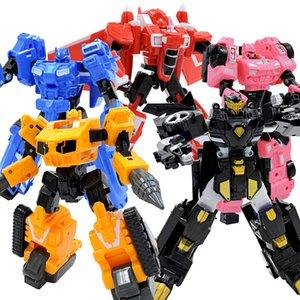New Miniforce Transformation Toys 10 Мини-агента Игрушки X Volt Semey Air Force Secret Commando Boys Детские Подары Детские подарки