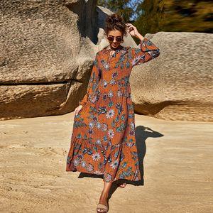 Playa Ramadán Eid Abaya Dubai Muslim Maxi Vestido largo Turquía Islam Ropa Robe Longue Femme Vestidos para Mujeres Vestido de Mujer