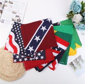 Forniture per feste Sciarpa di seta di modo, fazzoletto hip-hop, fazzoletto sportivo, fascia festosa stampata cotone ZC166