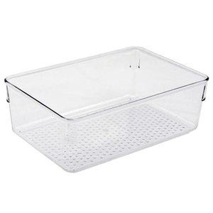 Bathroom Storage & Organization Transparent Acrylic Organizer Holder Cosmetics Jewelry Box Snack Desktop Case Home Bin Kitchen Container