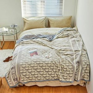 Various styles Vintage Letters Blankets Fall Winter Home Outdoor Blanket Soft Touch Warm Sofa Bed Quilt Beach Blnkets wwq