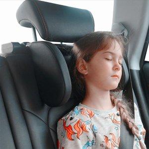 Seat Cushions Car Headrest Pillow Neck Support For Sleep Side Head High Elastic Nylon Kids