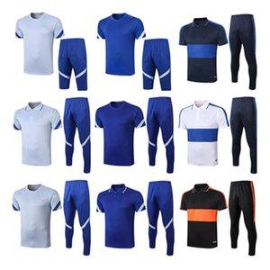 2021 рубашка поло футбол мужской футбольный тренер тренировочный костюм выставки Chandal jogging