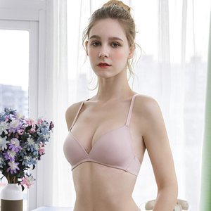 No steel ring bra, comfortable, light and breathable, beautiful back, women's sexy underwear