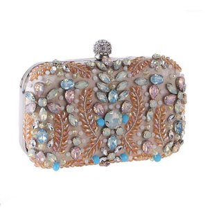 Evening Bag Crystal Famous Handbags Shoulder Bag Fashion Chain Flap Cross body Female Shoulder Evening1