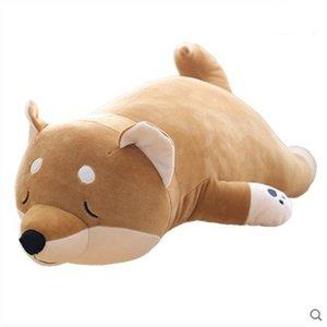 Cute Japanese Chaigou pillow creative simulation down cotton God annoying dog doll gift
