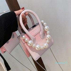 Evening Bags Pearl Totes Chain Shoulder Bag 2021 Mini Brands Designer Handbags Luxury Summer Crossbody For Women Sac De Luxe Femme