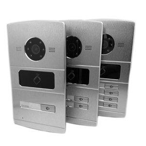 Video Door Phones Multi-language 1-4 Button International Version IP Doorbell,Door Phone, Intercom,waterproof, 13.56MHz RFID,IP Intercom