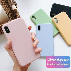 New Model Original Silicone Case For iPhone 11 Pro Max 7 8 Plus Phone Case For iphone XS X 6S 6 Plus With Retail Box