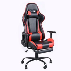 Confortable meubles haut de gamme de meubles de jeu pivotant chaise de bureau chaise Internet bar bar électronique chaises avec tier