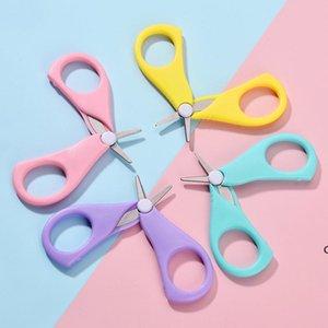 Детские ножницы для ногтей короткие дети для ногтей уборщики уборщиков безопасности безопасности нержавеющей стали круглая головка ножницы DHD5824