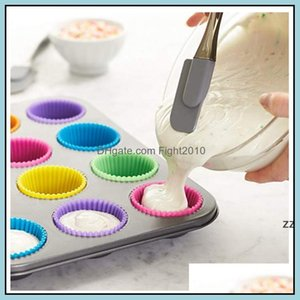 Bakeware Kitchen, Dining Bar Home & Garden7Cm Silica Gel Liners Mold Sile Muffin Cup Cake Cups Cupcake Kitchen Baking Tool Hwa7467 Drop Deli