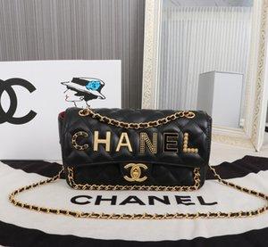 Fashion Chain White Shoulder Bag Luxury Women Handbag Small Flap Plaid Crossbody Bags Lady Diamond Lattice Quilted Messenger Bag