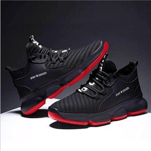 Leisure Sports Men's Style Single Fashion Running Breathable Wear Resistant Thick Soled Student Basketball Shoes R3AX