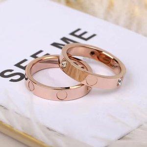 Антиллергия Titanium Steel Love Rings для женщин и мужской пары с обручальным кольцом украшения подарок