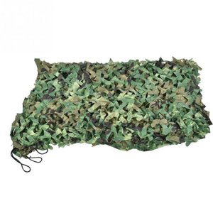 Tents And Shelters Camping Camo Net 2X3M 3X5M 1.5X5M 1.5X7M 4MX5M Woodland Jungle Camouflage Fishing Shelter Hide Netting