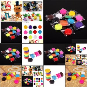 Clay, Dough Modeling Learning Education Toys & Giftsmixed Colour 12 Oven Bake Polymer Clay Modelling Moding Block Art Design Playdough Drop
