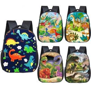 12-дюймовый мультфильм динозавров рюкзак детские школьные сумки для мальчиков девочек детский сад сумки малышей рюкзак детский книжный мешок