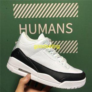 Top Quality Fragment Flight Knicks Fire Red Bio Beige Jumpman 3 3s Men Women basketball Shoes UNC Black White Cement Mens Sports sneaker