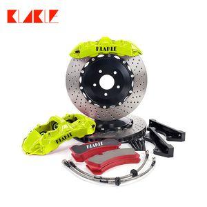 KLAKLE Brake Kits GT6 Brakes Caliper 355*32MM Car Disc Designer Cars Auto Parts Set Racing Pads For mercedes w203