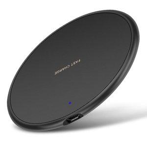10 W Hızlı Kablosuz Şarj iphone 11 Pro XS MAX XR X 8 Artı USB Qi Şarj Pad Samsung S10 S9 S8 S7 Kenar Not 10