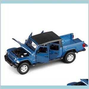 1 32 2020 Gladiator Rubicon Simulation Toy Vehicles Model Alloy Children Toys Genuine License Collection Gift Kids 6 Open Door Gi Os6Jf