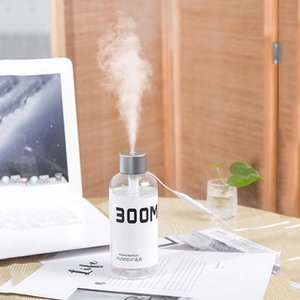 USB Household Car Bottle Shaped Humidifier 300ML Portable Mini Mist Maker Air Humidifiers Essential Oil Diffuser GWF10461