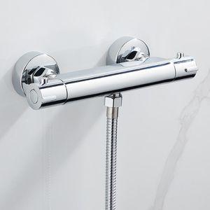 Термостат DusCharmatur Ванна Душевая Душ Управляющий Клапан Клапан Настенный Смеситель Смеситель Температура Температура Отображение Ванных Комплекты Ванные