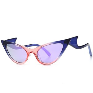 Cat's Eye Sunglasses Modern Leg Wave Sunglasses