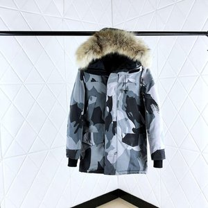 Designer Puffer Hooded high-end Canadian thick down jacket men and women couple windbreaker winter northern