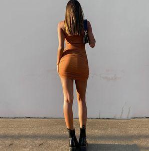 FANTOYE Mujeres Halter Vestidos de fiesta con cuello en V otoño de punto de punto Sexy Slim Bodycon Vendaje Largo Maxi Vestido Vestidos