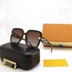 Classic Round Sunglasses Brand Design UV400 Eyewear Metal Gold Frame Sun Glasses Men Women Mirror