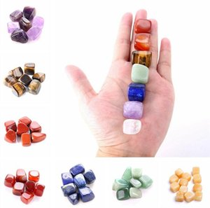 Natural Crystal Chakra Stone 7pcs Set Natural Stones Palm Reiki Healing Crystals Gemstones Home Decoration Accessories wjl0188
