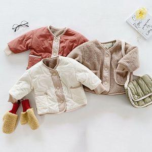 Croal Cherie Doppel Wear Jacken Kinder Jungen Kleidung Kinder Oberbekleidung Baby Mädchen Kleidung Wintermäntel