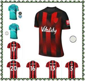 2021 AFC Futbol Formaları Fatura Kral Wilson Lerma 20 21 Ev Uzakta Üçüncü AKE Maglie da Calcio Brooks Erkekler Kids Kie Futbol Gömlek