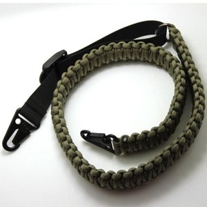 Handmade Adjustable Tactical Paracord Gun Rifle Sling Strap With Swivels Belt Accessories Outdoor Survival Equipment Gadgets