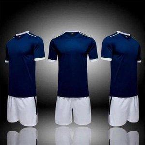 fashion 11 Team blank Jerseys Sets, custom ,Training Soccer Wears Short sleeve Running With Shorts 05