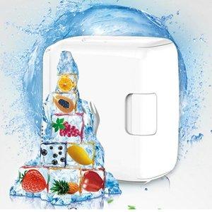Portable 8L Car Refrigerators Cooling Heating Machine Box Mini Freezer 12V ABS Plastic Energy Saving Removable Fridge