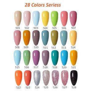 Nail Gel Arte Clavo Set Of Many Types 12 TO 56Pcs Neon Nude Colors Kit Soak Off UV Semi-Permanent Art Varnishes