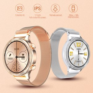 M3 Stainless Steel Smart Watch Women Sport Wrist Watches for Android IOS Heart Rate Blood Pressure Smartwatch 2021