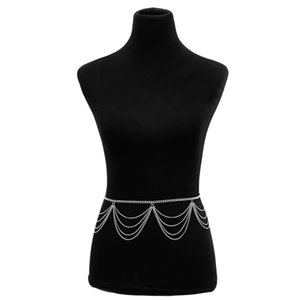 Femmes Bandandière chaîne de la ceinture décorative Body Long Tassel Chaîne de taille Vintage Salles de ventre pour femmes Tailles de taille 264 Q2