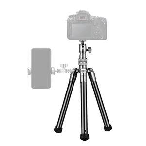 Selfie Monopods Ulanzi SK-04 Soporte de montaje en el teléfono de la zapata del trípode del trípode Frío para el micrófono LED 1/4 Tornillo