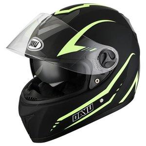 Casques de moto Dot 2021 Visage complet de la moto Casque à double lentille motocross double visière pour adultes