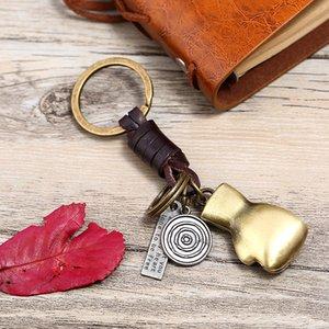 Keychain de Boxe Keychain Keyring Retro Bronze Eu sinto sobre você Keychain Inspirado Chaveiro Chaveiro Chaveiro Anéis Mulheres Homens Moda Jóias Drop Ship 154 R2