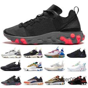 Мода React Vision Element 55 87 Мужские Повседневные Обувь Тип N354 Gore-Tex GTX Phantom Art3MIS Сотовые Схема Мужчины Женщины Спорт GT9F