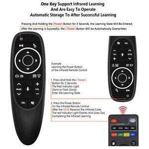 G10S Pro Voice Control Mouse with Gyro Sensing Mini Wireless Smart Remote Backlit For Android tv box PC H96 HK1 Stick Screen