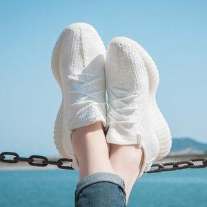 kanye yeezy 350 V2 boost Static Refective estático Kanye West Hombres Mujeres V2 Calzado casual de entrenamiento deportivo zapatillas de deporte 36-47 eur