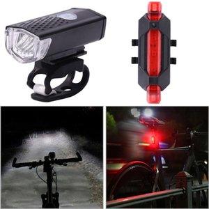 أضواء الدراجة 2021 دراجة المصباح الذيل مصابيح الشعلة تعيين كشافات الخلفية الخلفية للطرق الطوارئ التخييم ركوب الدراجات
